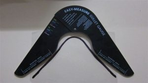 A gullet gauge can be used to measure your horse's fit.